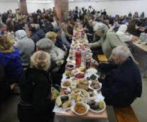 У Львові провели Великодній сніданок для потребуючих (ФОТО, ВІДЕО)